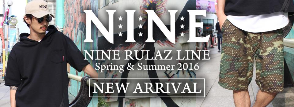 NINE RULAZ LINE -NEW ARRIVAL-