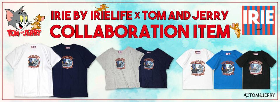 IRIEからトムとジェリー コラボアイテムがリリース!!