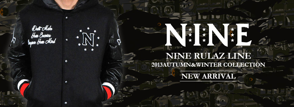 NINE RULAZ LINE -NEW ARRIVAL-
